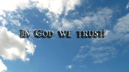 In God we trust copy